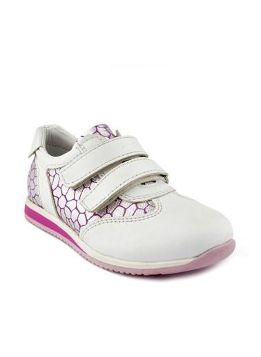 Cici Bebe Ayakkabı Kız Çocuk Ayakkabısı Beyaz